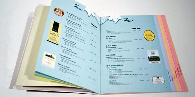 Carta de Restaurante en Gijón
